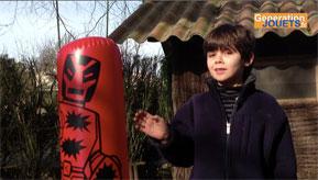 punching ball gonflable pour enfants generation. Black Bedroom Furniture Sets. Home Design Ideas