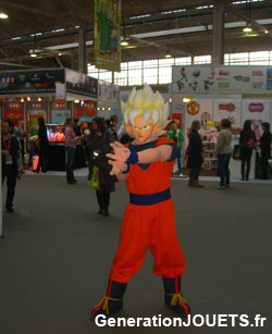20e anniversaire de Dargon Ball Z en France au Forum des licences de Paris en 2011