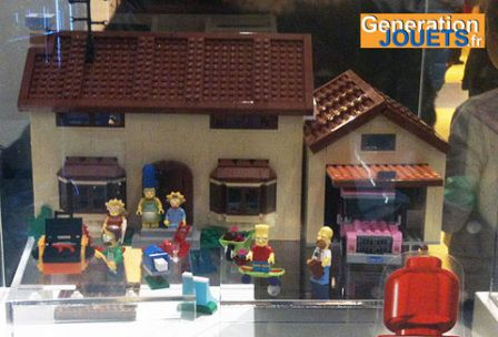 Maison des Simpson LEGO disponible