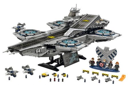 Lego Du Jouets Shield Héliporteur Par Generation Qrdtsh